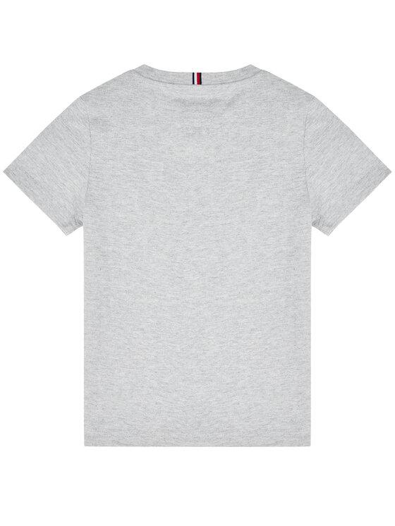 Tommy Hilfiger Tommy Hilfiger T-Shirt Flag Tee KB0KB05718 D Γκρι Regular Fit
