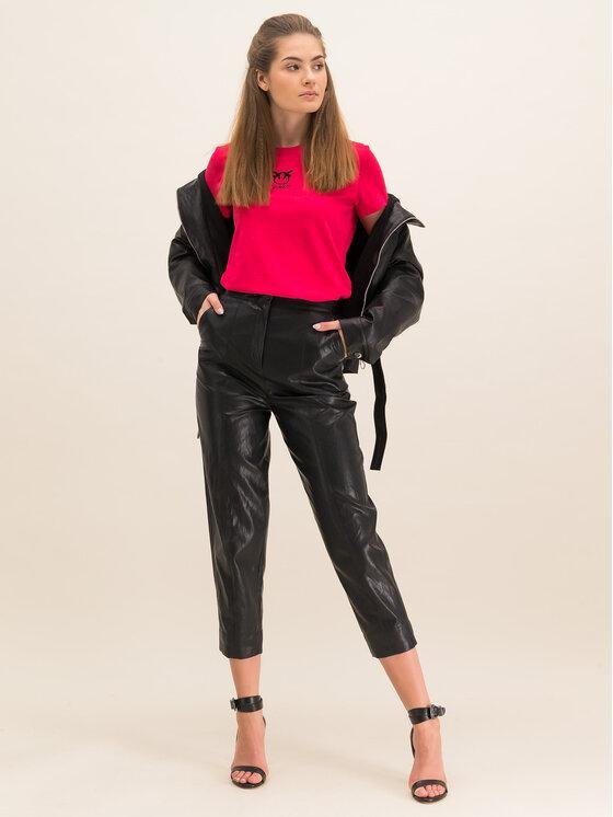 Pinko Pinko T-Shirt Bussolano PE 20 BLK01 1G14XB Y651 Κόκκινο Regular Fit