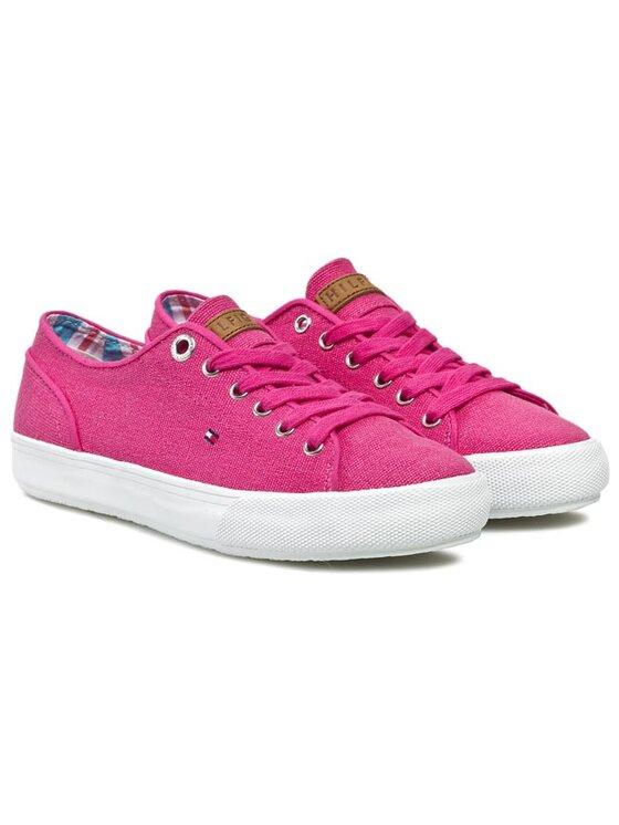 Tommy Hilfiger Tommy Hilfiger Πάνινα παπούτσια Vivien 14D FW56817463 Ροζ