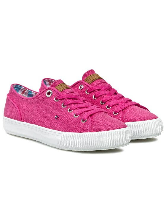Tommy Hilfiger Tommy Hilfiger Sneakers aus Stoff Vivien 14D FW56817463 Rosa