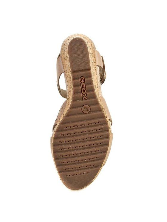 Geox Geox Sandále D Alias A D52C3A 00043 C6738 Béžová