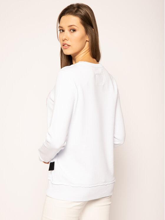 Versace Jeans Couture Versace Jeans Couture Суитшърт B6HVA72T Бял Regular Fit