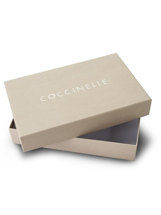 Coccinelle Coccinelle Duży Portfel Damski AW5 Metallic Soft E2 AW5 11 67 01 Czarny