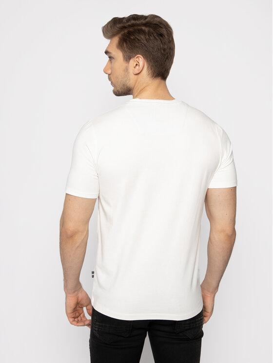 Aeronautica Militare Aeronautica Militare T-Shirt 201TS1698J469 Bílá Regular Fit