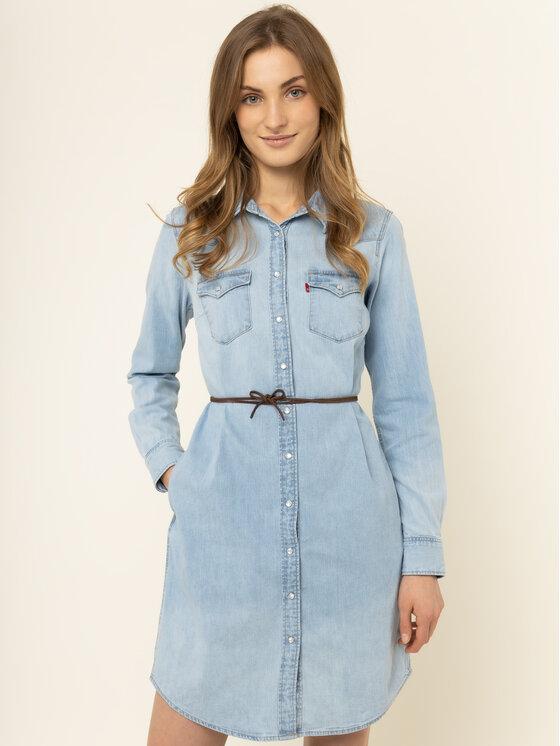 Levi's® Levi's Φόρεμα τζιν Ultimate Western 59484-0008 Μπλε Regular Fit