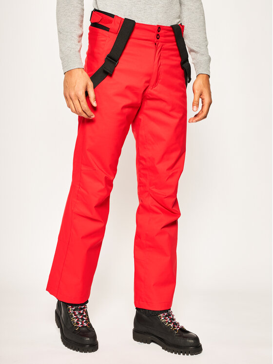 Rossignol Rossignol Lyžiarske nohavice RLIMP03 Červená Regular Fit