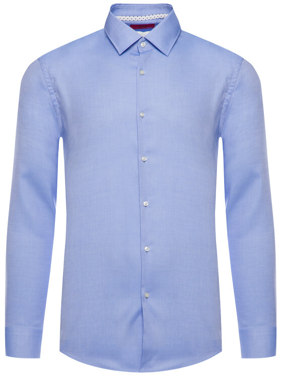 Hugo Hugo Košeľa Koey 50415289 Modrá Slim Fit
