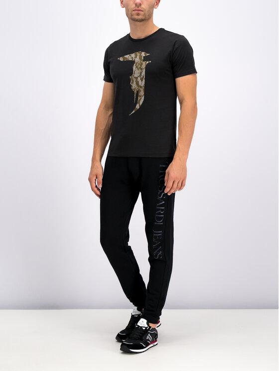 Trussardi Trussardi T-Shirt 52T00270 Μαύρο Regular Fit
