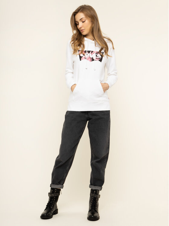 Levi's® Levi's® Bluza Graphic Sport 35946-0143 Biały Regular Fit