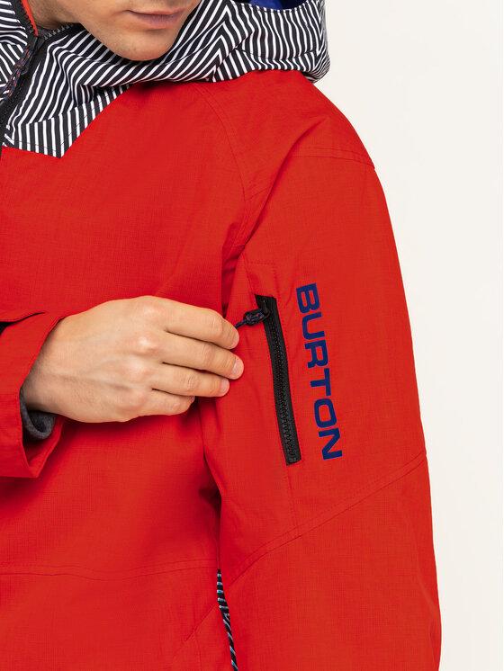 Burton Burton Snowboardová bunda Hilltop 13066105600 Červená Regular Fit
