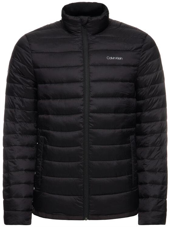 Calvin Klein Calvin Klein Пухено яке K10K105128 Черен Regular Fit