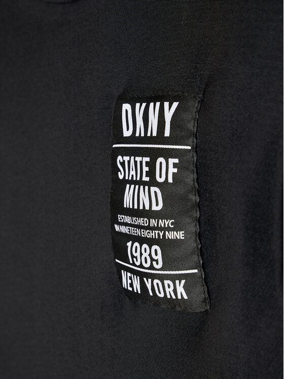 DKNY DKNY Majica D35R63 M Crna Regular Fit