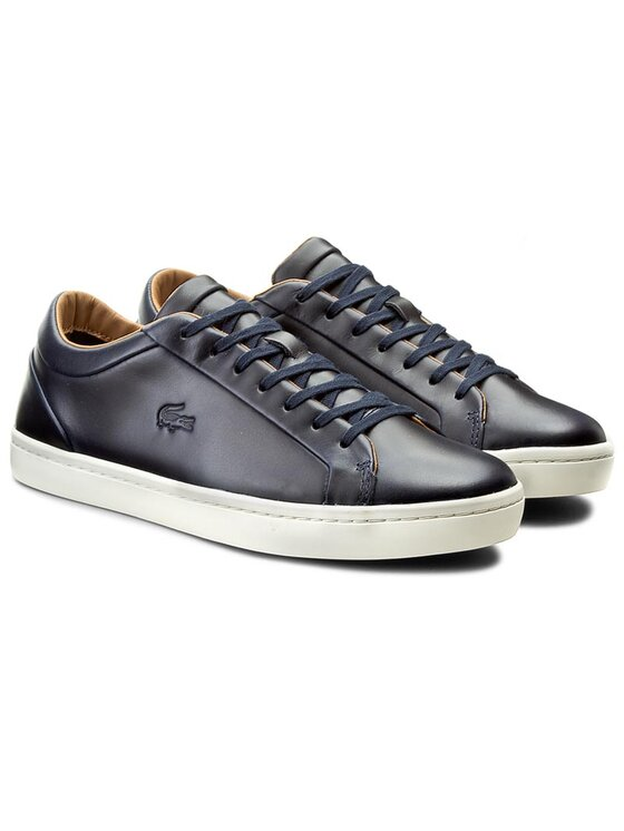 Lacoste Lacoste Sneakersy Straightset 316 3 7-32CAM0097003 Granatowy