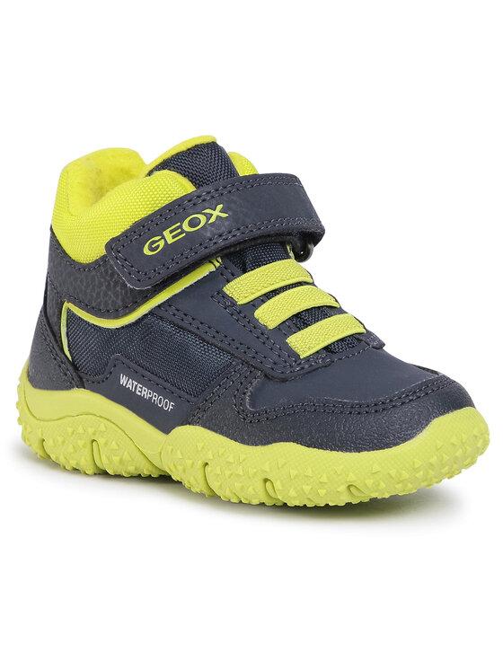 Geox Auliniai batai B Baltic B. Wpf A B0442A 0CEFU C0749 M Tamsiai mėlyna