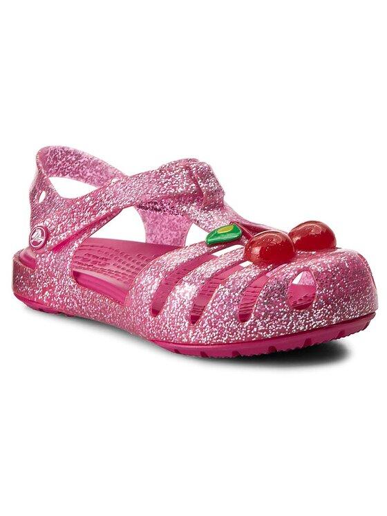 Crocs Crocs Sandały Isabella Novelty Sandal 204529-6JU Różowy