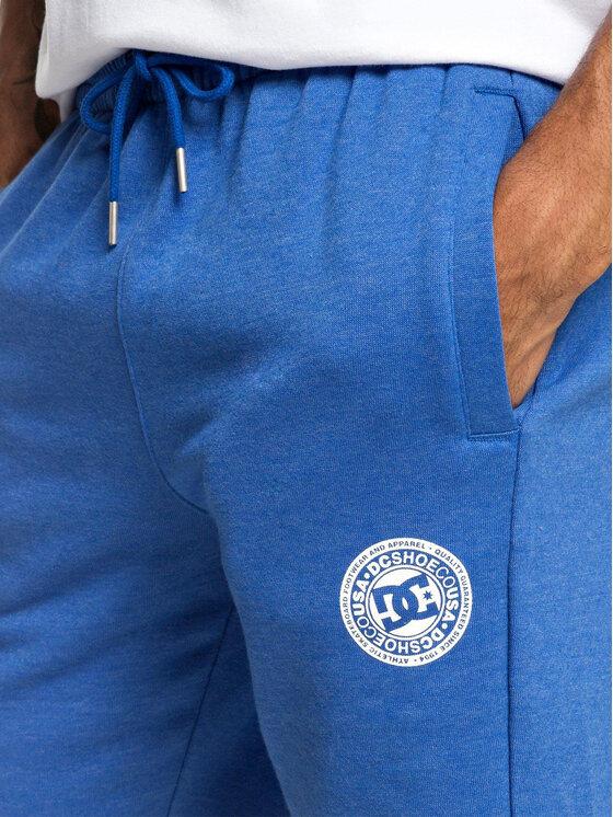 DC DC Športové kraťasy EDYFB03064 Modrá Regular Fit