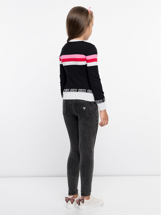 Guess Guess Sweater J93R00 Z2GO0 Fekete Regular Fit