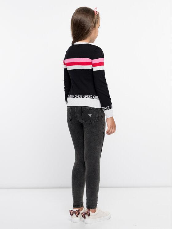 Guess Guess Sweter J93R00 Z2GO0 Czarny Regular Fit