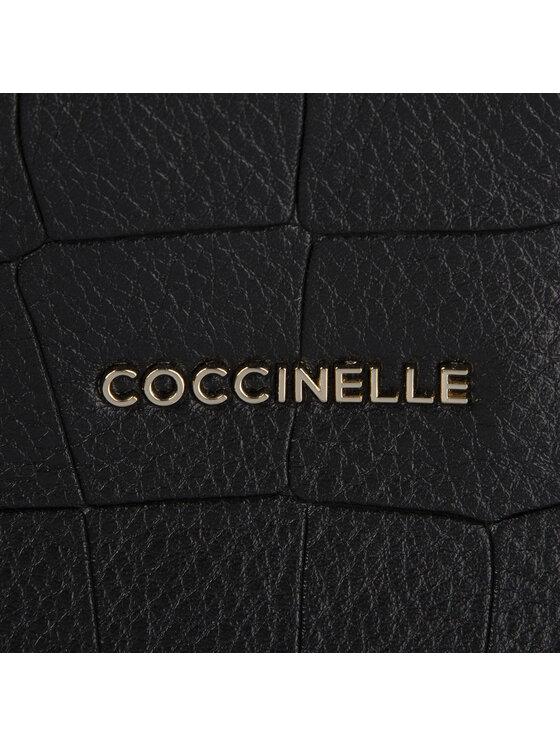 Coccinelle Coccinelle Táska FBI Ella Croco E1 FB1 18 02 01 Fekete