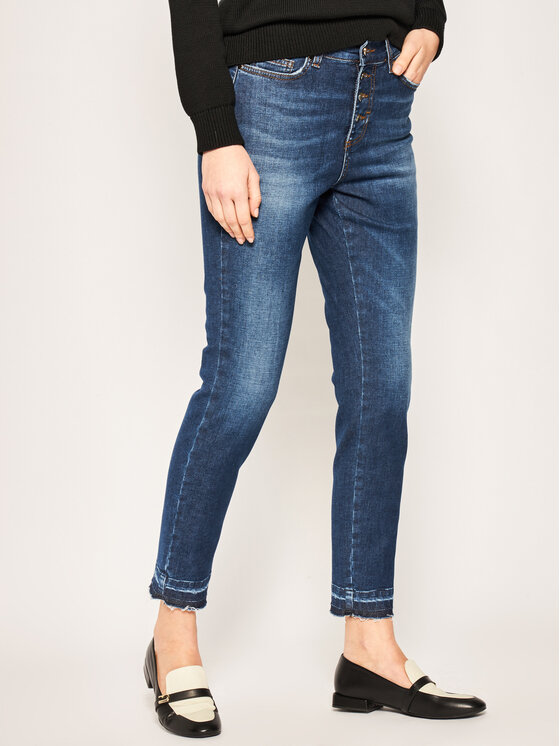 iBlues jeansy_skinny_fit Violet 71810601 Tamsiai mėlyna Skinny Fit