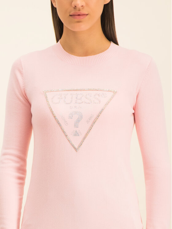 Guess Guess Pullover Naomi W01R92 Z2760 Rosa Regular Fit