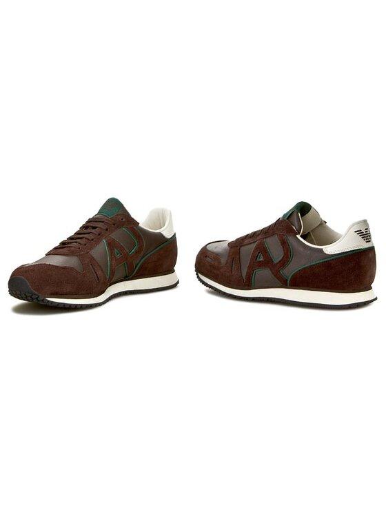 Armani Jeans Armani Jeans Sneakersy Z6506 14 17 Hnědá