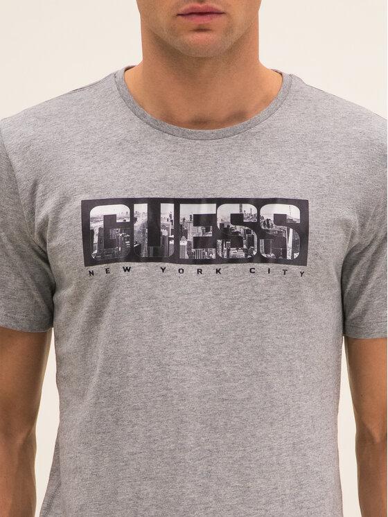 Guess Guess T-Shirt M01I53 K9H10 Γκρι Regular Fit