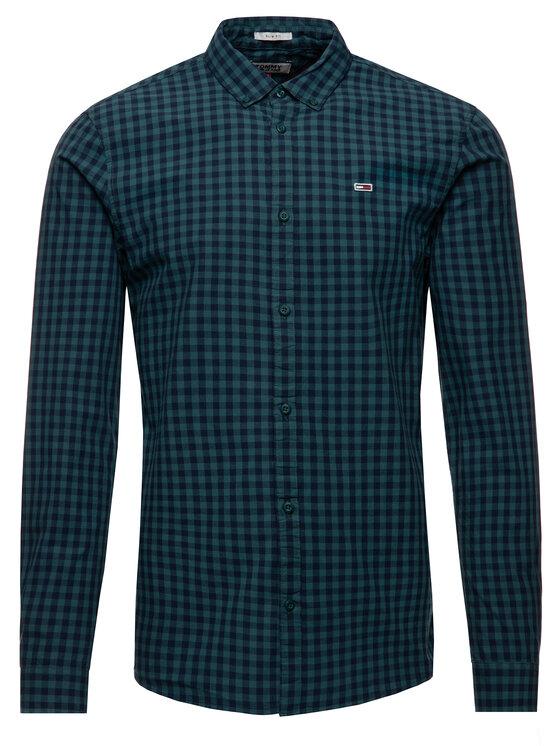 Tommy Jeans Tommy Jeans Košeľa DM0DM06935 Zelená Slim Fit