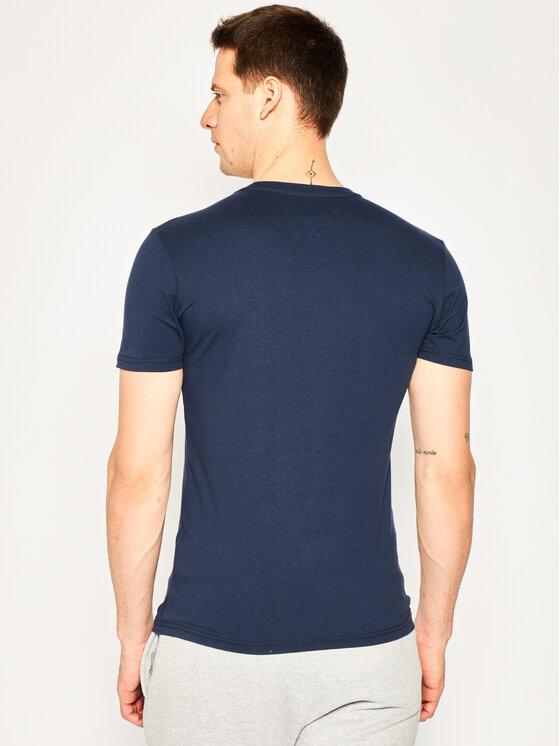 Tommy Jeans Tommy Jeans T-Shirt Script DM0DM07011 Σκούρο μπλε Regular Fit