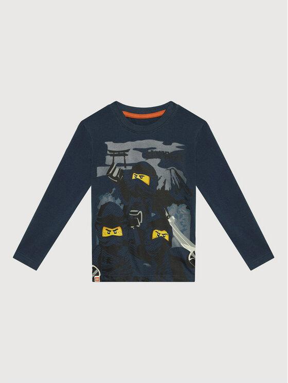 LEGO Wear LEGO Wear Bluzka Ls 12010208 Granatowy Regular Fit