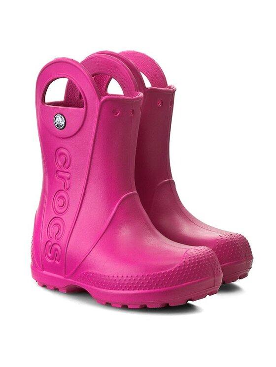 Crocs Crocs Gumicsizma Handle It Rain Boot Kids 12803 Rózsaszín