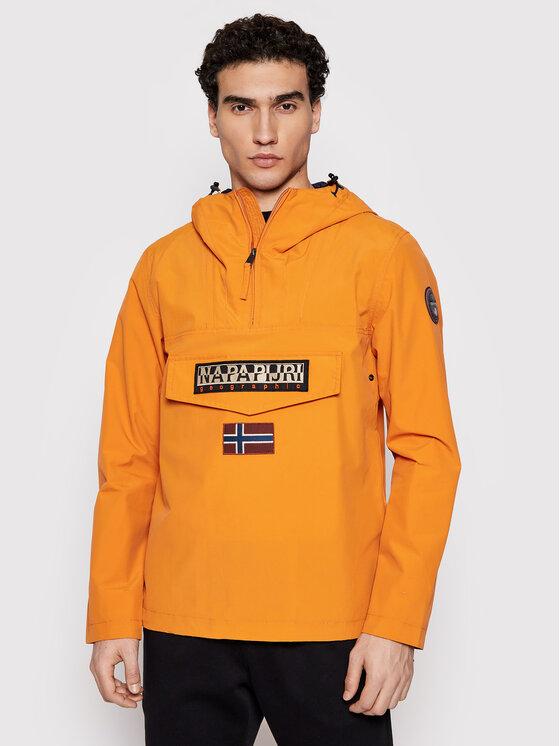 Napapijri Anorak stiliaus striukė Rainforest NP0A4FDN Oranžinė Regular Fit