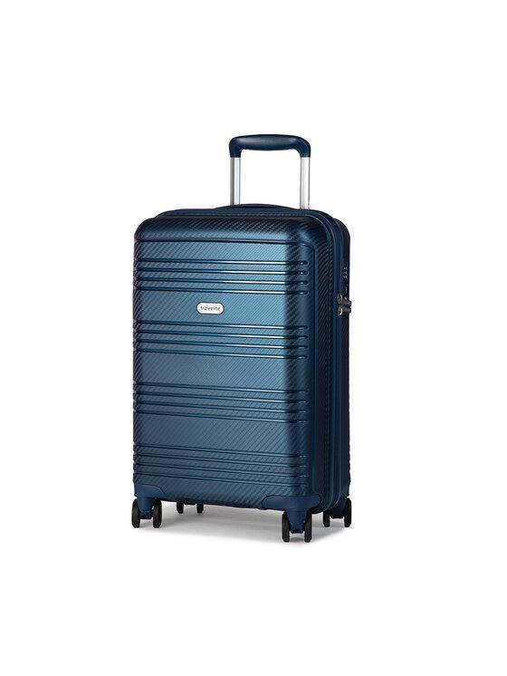 Travelite Mažas Kietas Lagaminas Zenit 75747-20 Tamsiai mėlyna