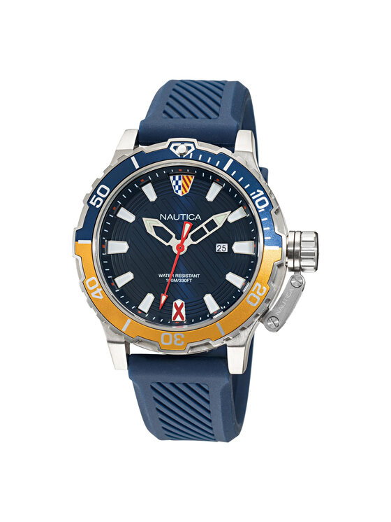 Nautica Laikrodis Glenrock NAPGLS111 Tamsiai mėlyna