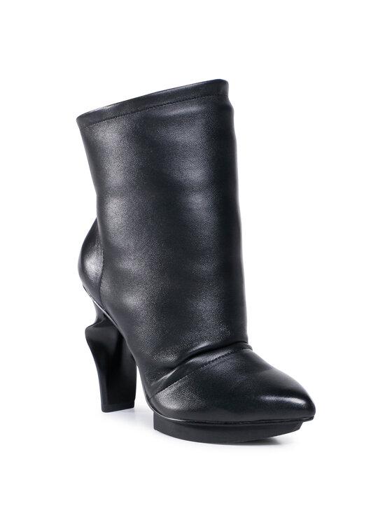 United Nude Aulinukai Slouch Boot 1059701145 Juoda
