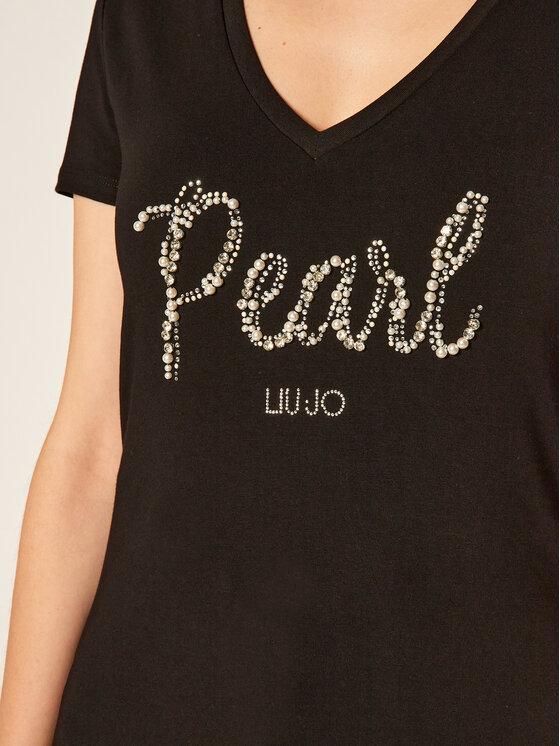 Liu Jo Liu Jo T-Shirt WF0073 J5003 Černá Regular Fit