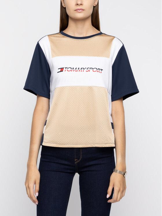 Tommy Sport Tommy Sport T-Shirt S10S100194 Kolorowy Regular Fit