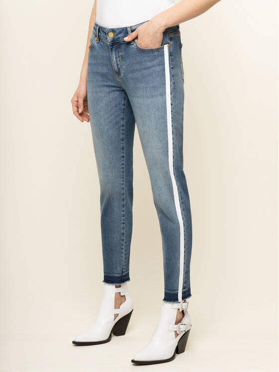 Escada Sport jeansy_skinny_fit J492 5032872 Tamsiai mėlyna Skinny Fit