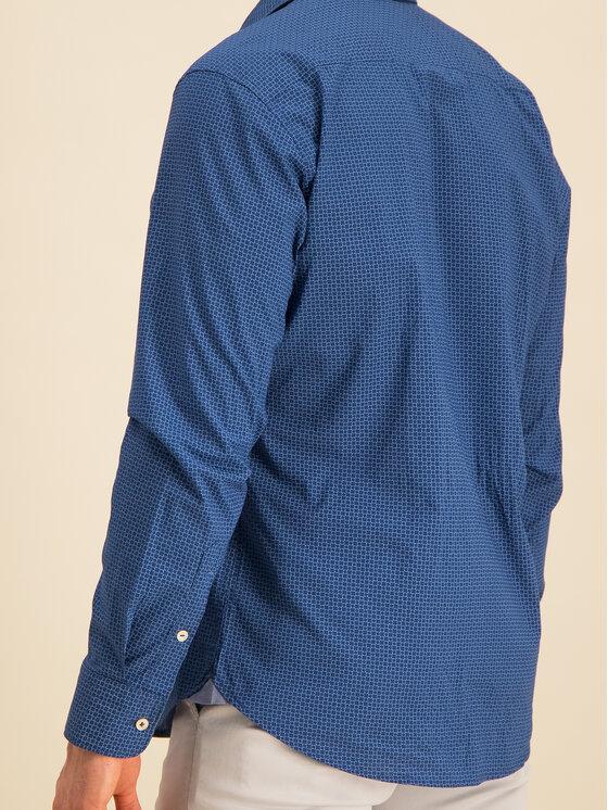Marc O'Polo Marc O'Polo Camicia 021 7201 42144 Blu scuro Regular Fit
