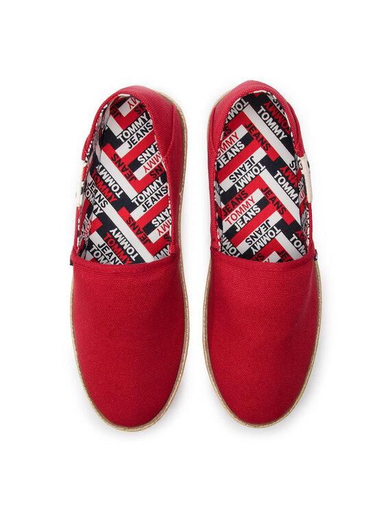 Tommy Jeans Tommy Jeans Espadrilės Summer Shoe EM0EM00279 Raudona
