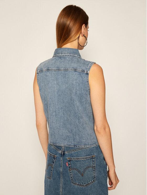 Calvin Klein Jeans Calvin Klein Jeans Liemenė Denim J20J214421 Mėlyna Regular Fit