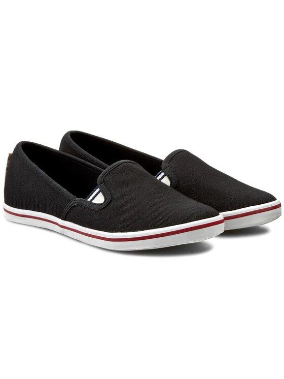 Tamaris Tamaris Sneakers aus Stoff 1-24619-24 Schwarz