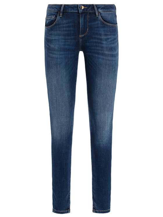 Guess Guess jeansy Skinny Fit Annette W94A99 D2R73 Blu scuro Skinny Fit