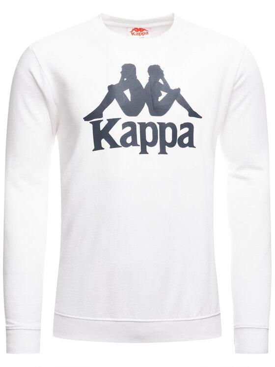 Kappa Kappa Mikina Sertum 703797 Biela Regular Fit
