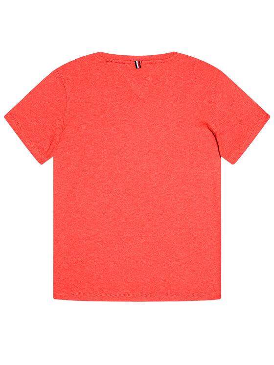 Tommy Hilfiger Tommy Hilfiger Marškinėliai KB0KB04140 D Raudona Regular Fit