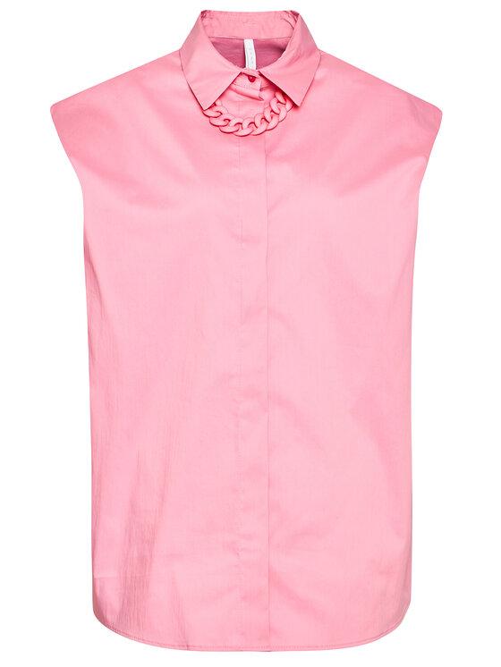 Imperial Imperial Koszula CJU2BBE Różowy Oversize