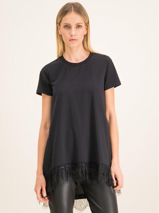 My Twin My Twin T-Shirt 201MP2358 Czarny Regular Fit