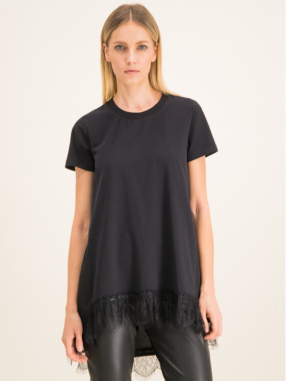 My Twin My Twin T-Shirt 201MP2358 Μαύρο Regular Fit