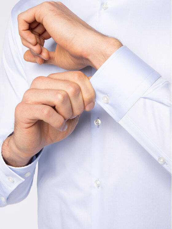 Hugo Hugo Marškiniai Kason 50399344 Mėlyna Slim Fit