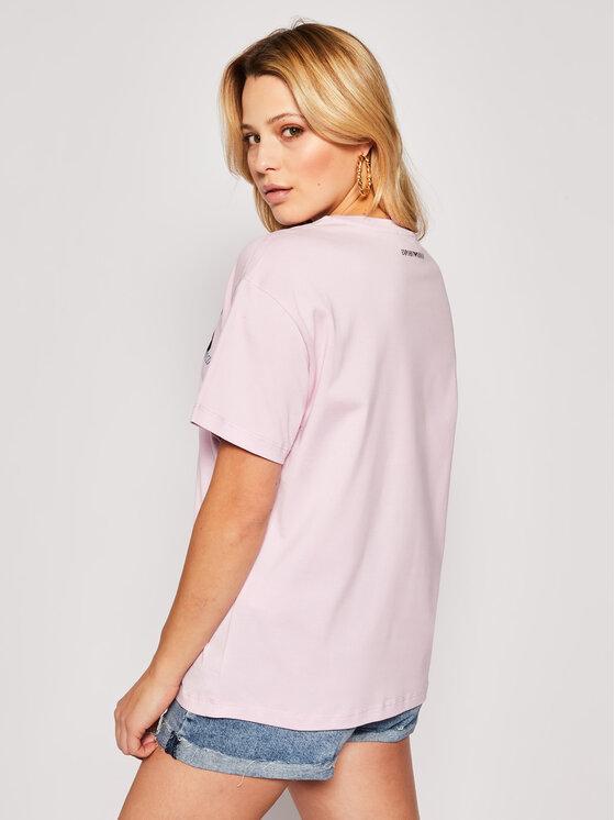 Emporio Armani Emporio Armani T-shirt 3H2T7P 2J30Z 0322 Rosa Regular Fit